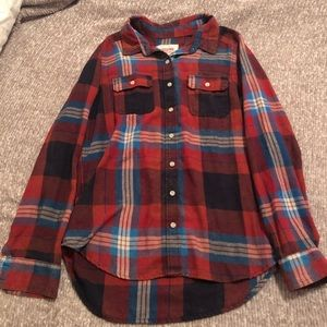 ❤️ 3 for $15 ❤️  Mossimo flannel button down shirt